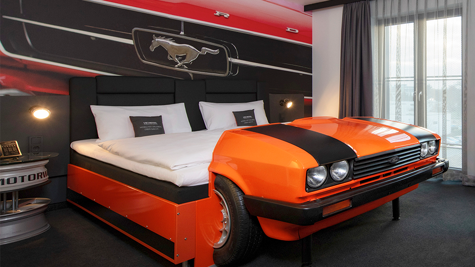 V8 Hotel – Eventlocation Motorworld Köln | Rheinland